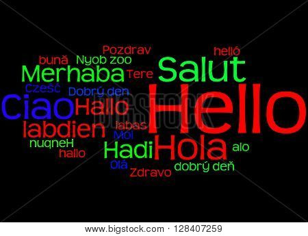 Hello, In Different Languages 4