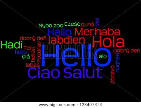 Hello, In Different Languages 6
