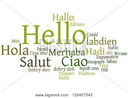 Hello, In Different Languages 8