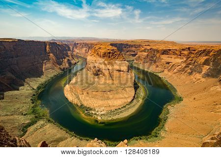 Horse Shoe Bend, Lake Powell, Usa