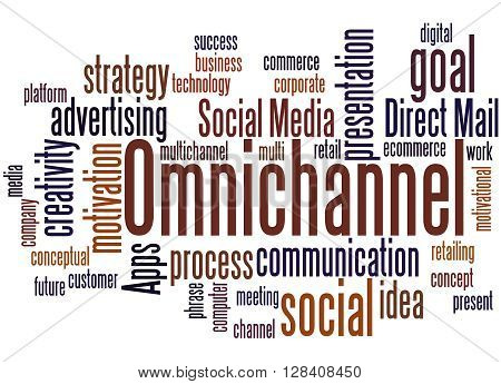 Omnichannel, Word Cloud Concept 7