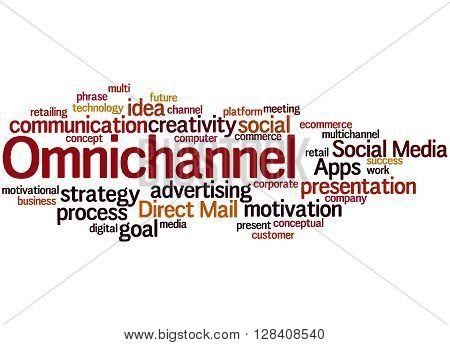 Omnichannel, Word Cloud Concept 9