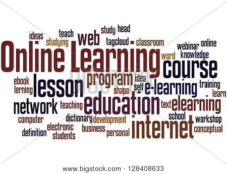 Online Learning, Word Cloud Concept 3