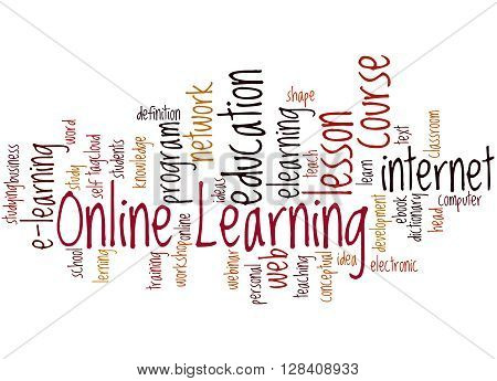 Online Learning, Word Cloud Concept 9