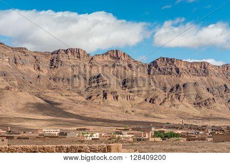 Tamnougalt in the Draa valley near Agdz Souss-Massa-Draa region Morocco.