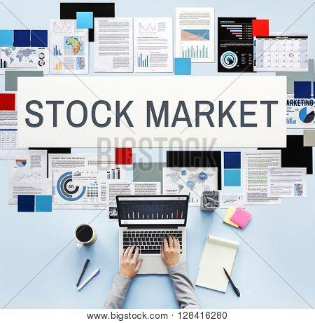 Stock Market Exchange International Economy Concept