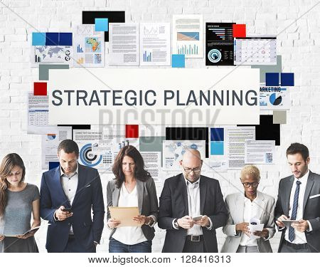 Strategy Strategies Strategic Tactics Planning Concept