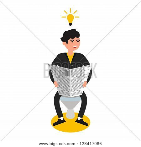 business people , inspiration in vector format eps10