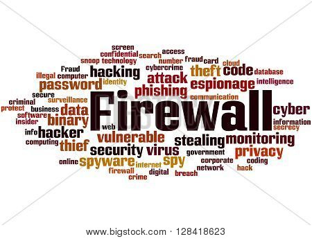 Firewall, Word Cloud Concept 3