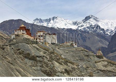 Tingmosgang Buddhist Monastery, Ladakh, Jammu & Kashmir, India