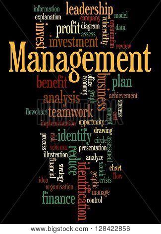 Management, Word Cloud Concept 5