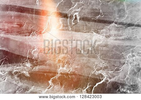 Light effect added to abstract background