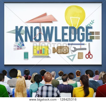 Knowledge School Course Degree Graphics Concept
