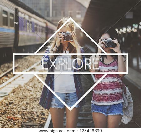 Explorer Journey Explore Leisure Concept