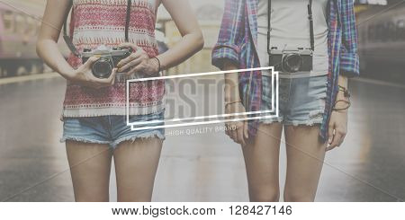 Friends Travel Photographer Casual Concept