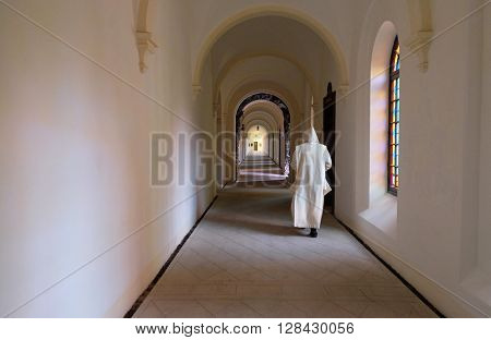 PLETERJE, SLOVENIA - NOVEMBER 06: Carthusian monastery in Pleterje, Slovenia on November 06, 2015