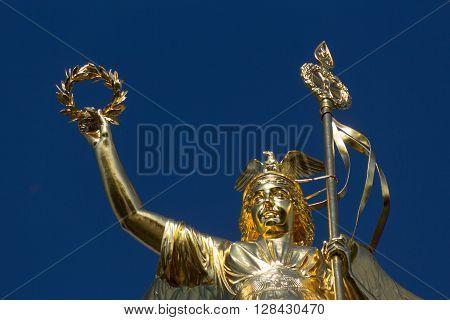Victory Column In Berlin (siegessaeule)