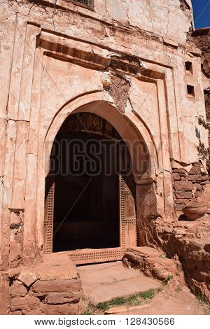 Telouet Kasbah Morocco crumbling beauty April 2016