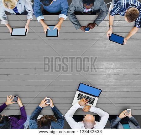 Business Team Marketing Global Communication Concept
