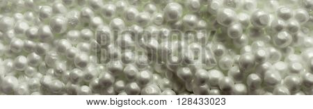 Polystyrene foam beads. Polystyrene foam texture Polystyrene foam Free space