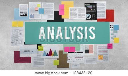 Analysis Data Information Insight Planning Report Concept