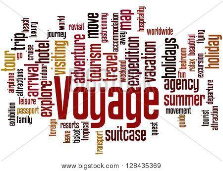 Voyage, Word Cloud Concept 3