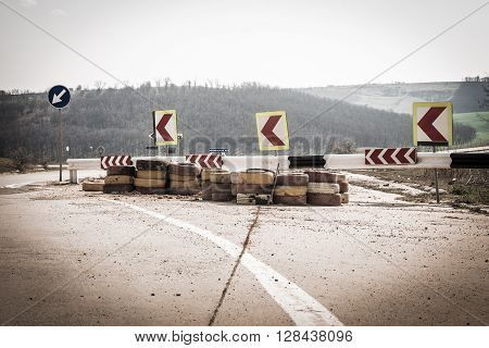 Road Repairs Background