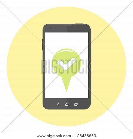 Mobile Accept Marker
