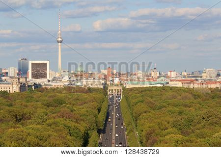City Skyline, Berlin, Germany