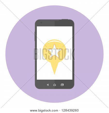 Mobile Favorite Mark