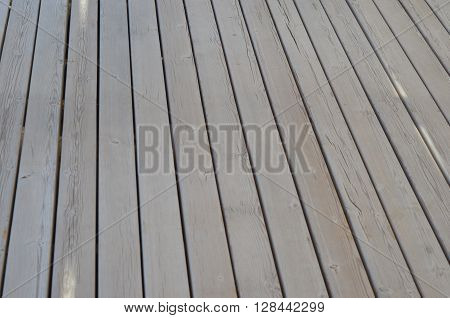 wooden planks background with copy space. texture of old wooden planks