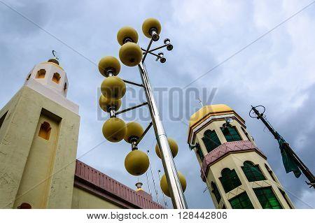 Qaryah Masjid Jamek Benggali Mosque or Benggali Mosque, place of worship for Indian Muslims in historic George Town, Penang.