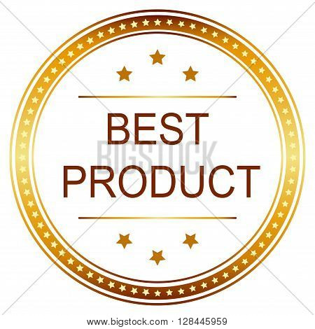 Best Product Badge and seal. Vector image.