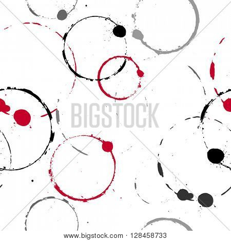 Seamless pattern with blots. Element for design.