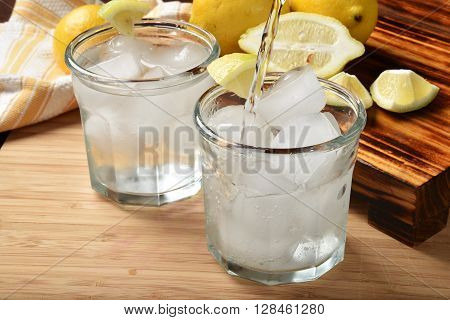 Lemon Spritzer