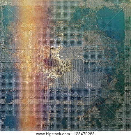 Colorful grunge background, tinted vintage style texture. With different color patterns: yellow (beige); gray; blue; red (orange); purple (violet); cyan