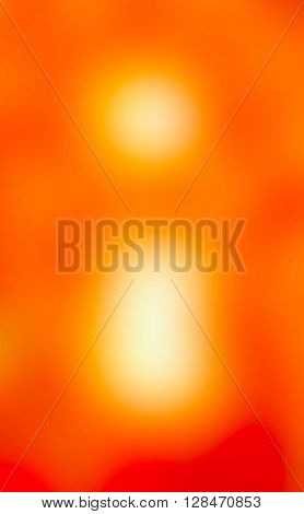 The variocolored blurred background and texture. Letter I.