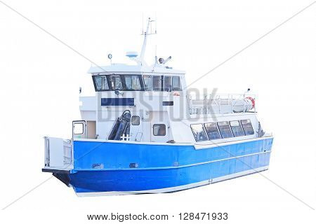 Passenger ship isolated