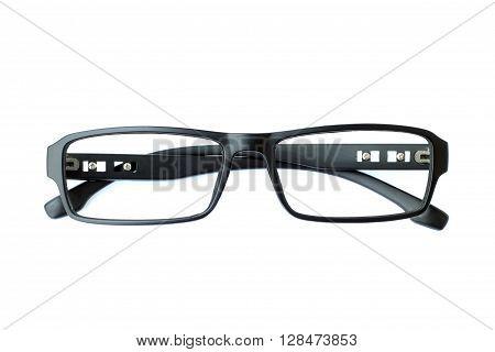 Image of frame eyeglasse on white background.