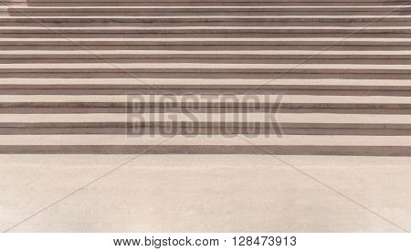 exposed aggregate finish outdoor staircase abstract background