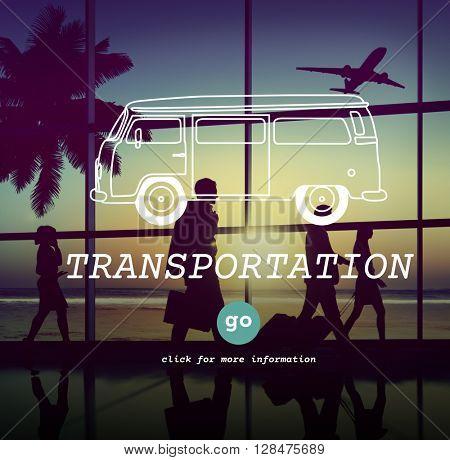 Transportation Transport Vehicle Automobile Concept