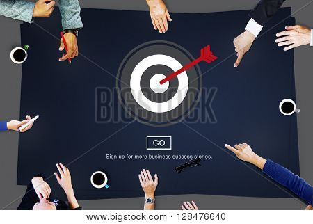 Targeting Aiming Shoot Directional Accurate Concept