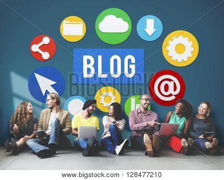 Blog Blogging Content Website Online Concept