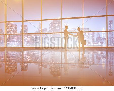 Successful Business Deal Handshake Concept