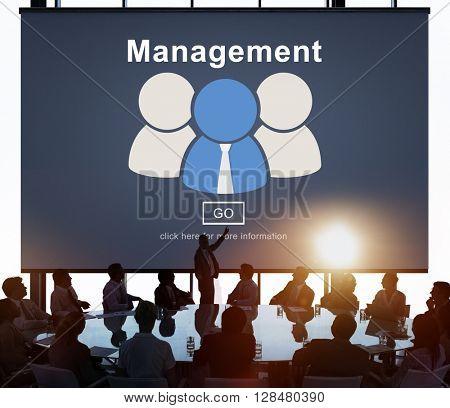 Management Business Communication Corporate Concept