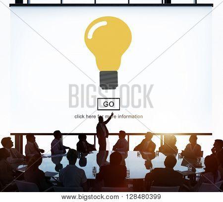 Light Bulb Ideas Creativity Invention Concept