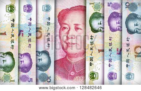 Chinese Yuan Background