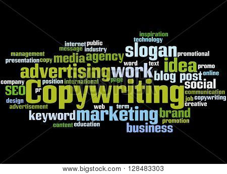 Copywriting, Word Cloud Concept 2