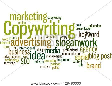 Copywriting, Word Cloud Concept 6