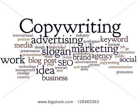 Copywriting, Word Cloud Concept 9